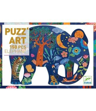Djeco Puzz'Art Olifant 150 st. | Djeco