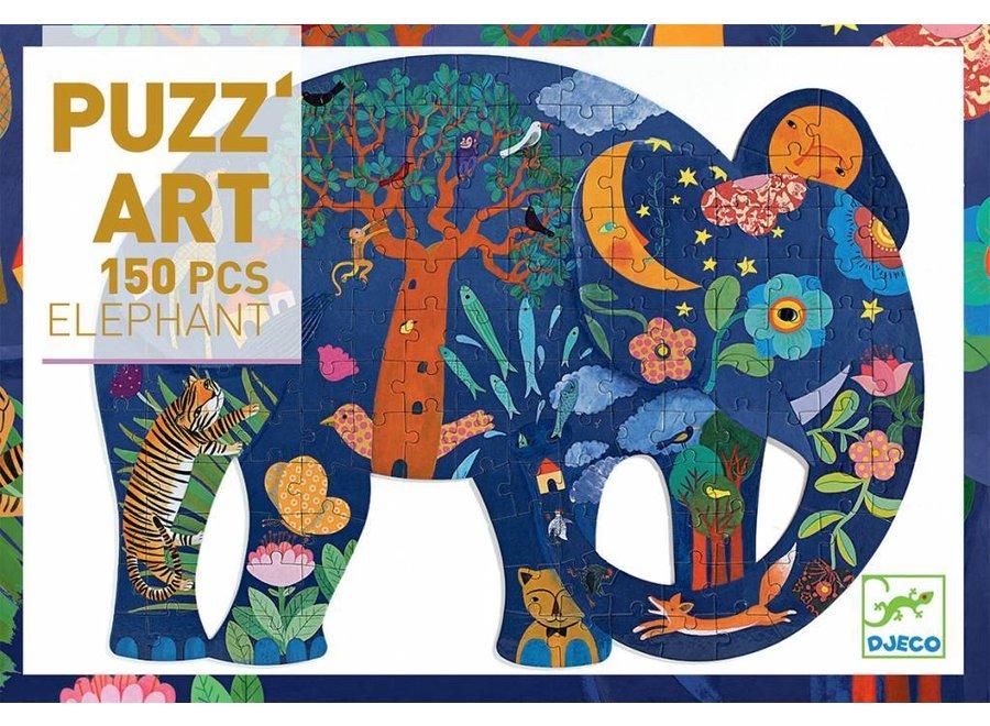 Puzz'Art Olifant 150 st. | Djeco
