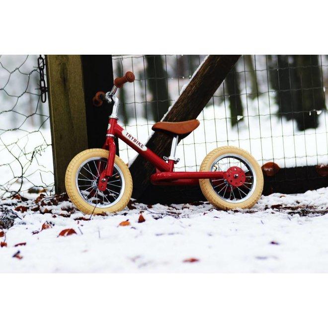 Trybike Steel loopfiets - Vintage Red | Trybike