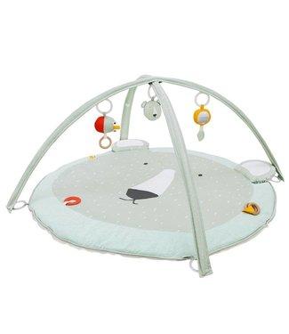 "Trixie Baby Speelmat met bogen Mint ""Mr. Polar Bear"" | Trixie Baby"