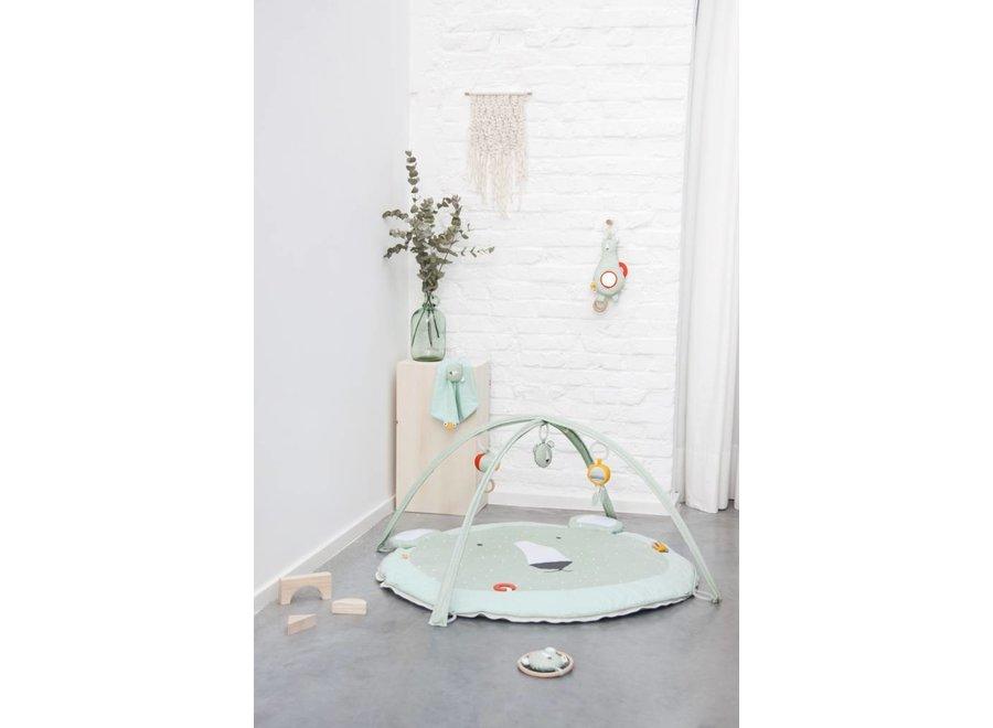 "Speelmat met bogen Mint ""Mr. Polar Bear"" | Trixie Baby"