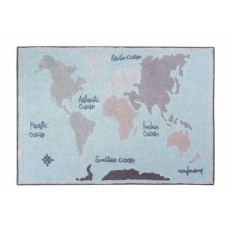 Lorena Canals Tapijt Vintage Map | Lorena Canals
