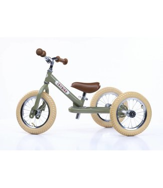 Trybike Trybike  Steel 2-1 loopfiets Vintage Green | Trybike