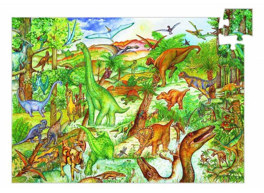 Leerrijke Puzzel 'Dinosaurus'  100st.| Djeco