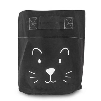 "Jollein Opbergmand XL ""Little Lion Black"" 