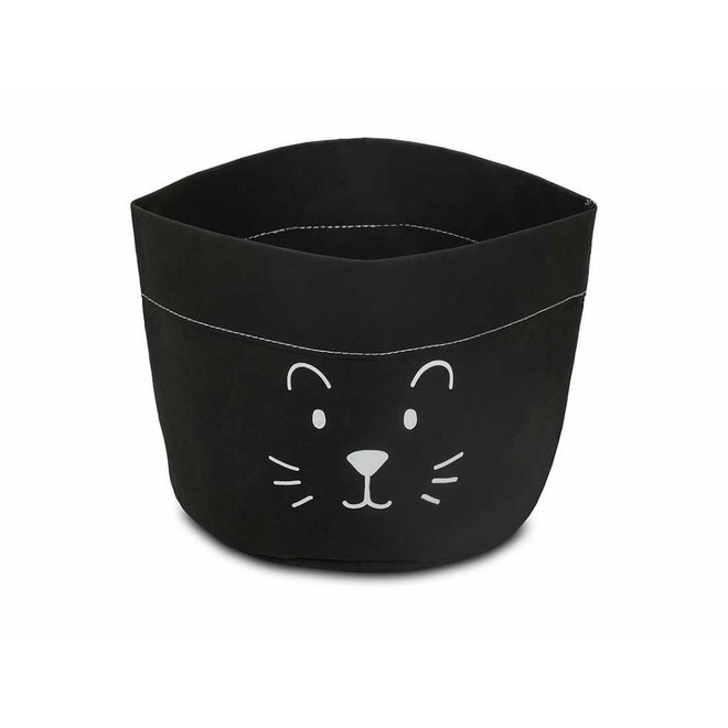 "Opbergmand ""Little Lion Black"" 