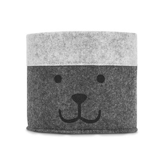 "Jollein Opbergmand ""Little Bear Grey"" 