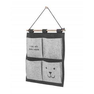 Jollein Wandorganizer  Bear Grey | Jollein