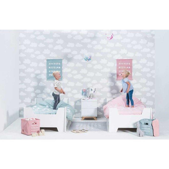 Dekbed en Sloop 140 x 200 cm Blush Pink| Jollein