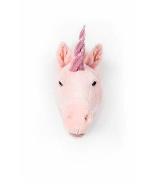 Wild & Soft Dierenkop Trophy Roze Unicorn Julia | Wild & Soft