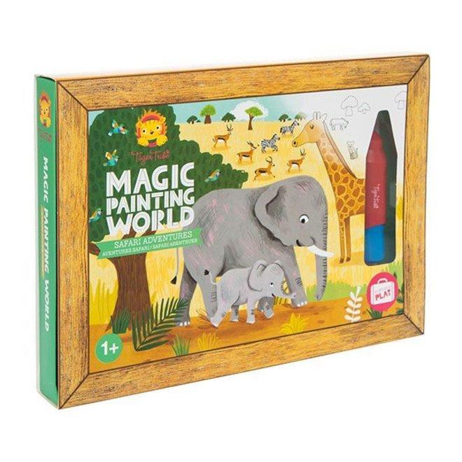 Magic Painting World - Safari Adventures | Tiger Tribe