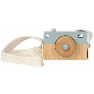 Little Dutch Houten Fotocamera Blauw | Little Dutch