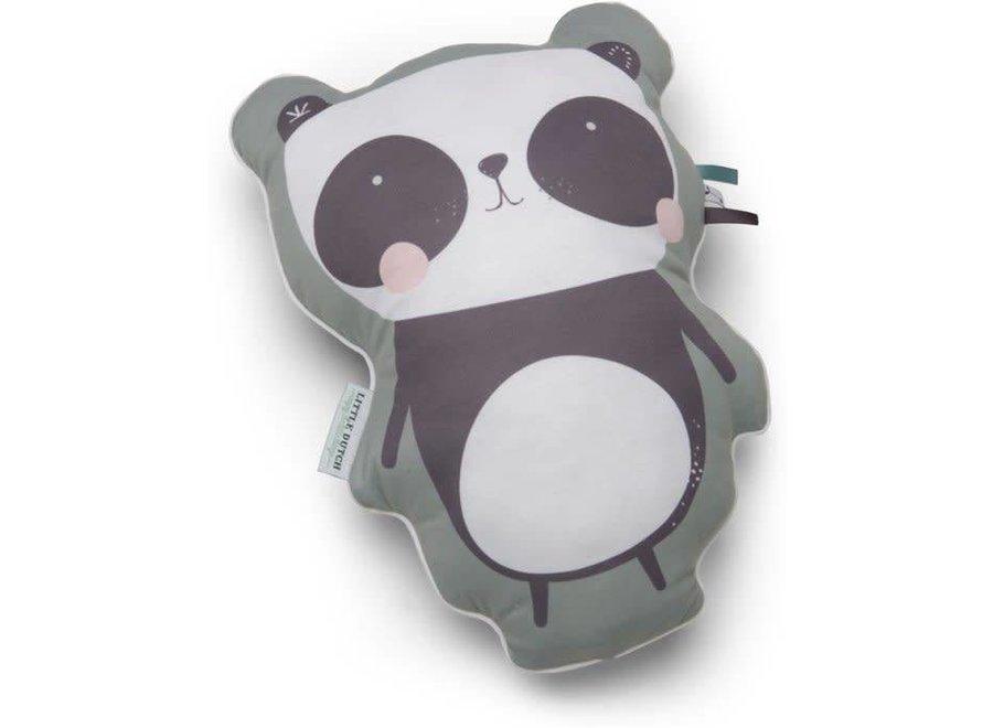 Kussen Panda Mint | Little Dutch