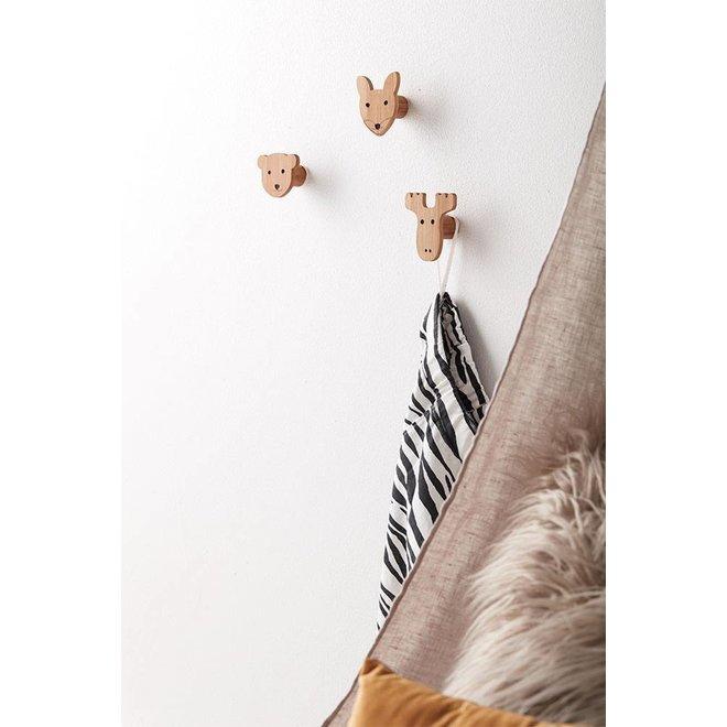 Kledinghaakjes Bamboe Edvin | Kid's Concept