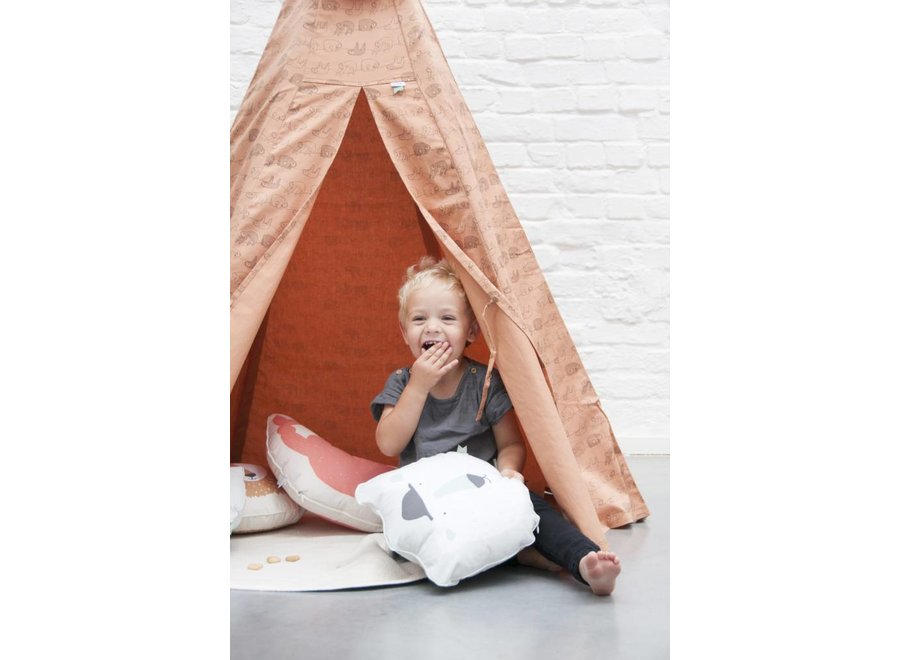 Tipi Tent - Silly Sloth | Trixie Baby