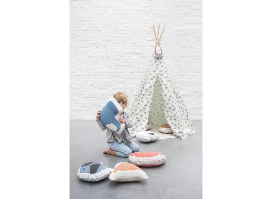 Tipi Tent - Blowfish | Trixie Baby