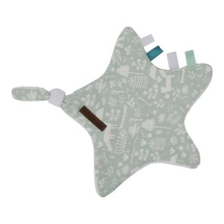 "Little Dutch Knuffeldoekje Ster ""Adventure Mint"" 