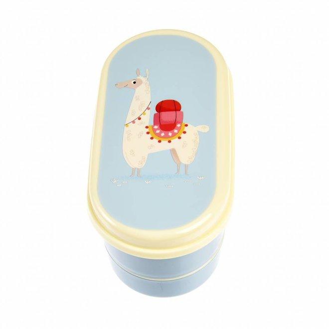 Lunchbox / Brooddoos Bento - Dolly Lama   Rex