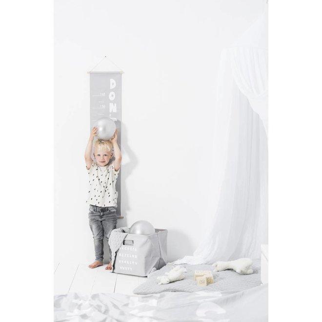 Groeimeter 70-140 cm Soft Grey | Jollein