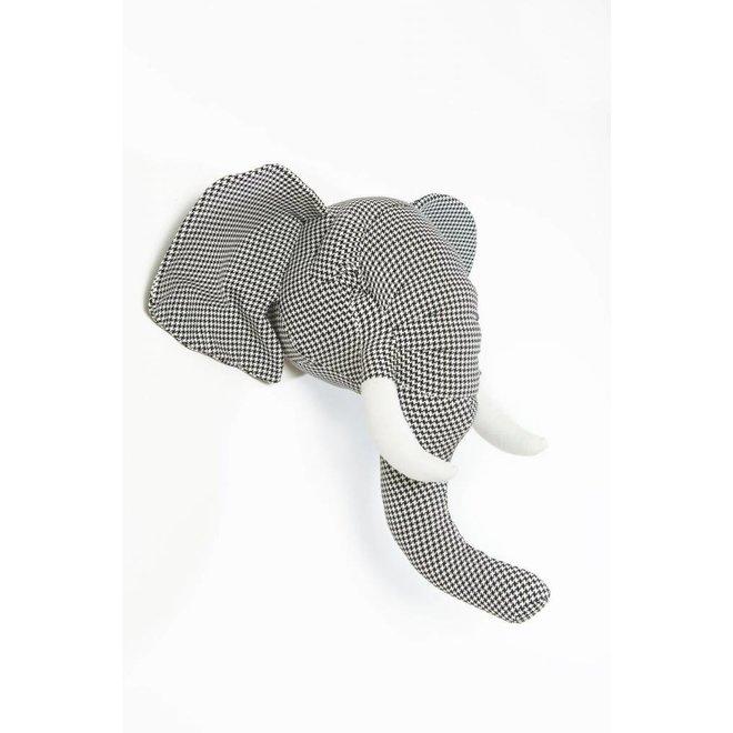 Dierenkop Olifant Andrew  | Wild & Soft