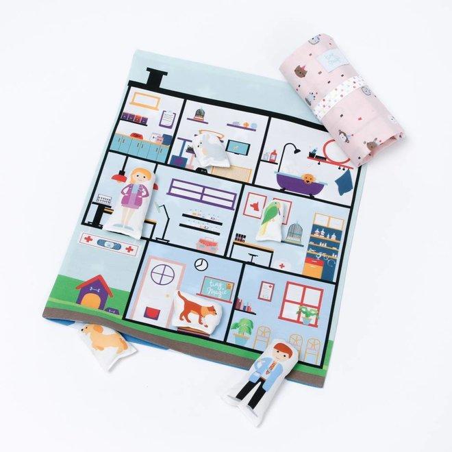 The little Pet Hospital Konijnenprint   Tiny Magic