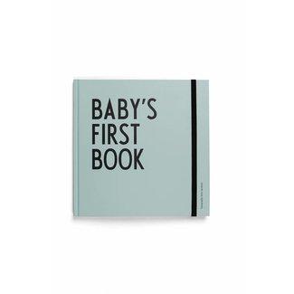 Design Letters Baby's Eerste Boekje Turquoise | Design Letters