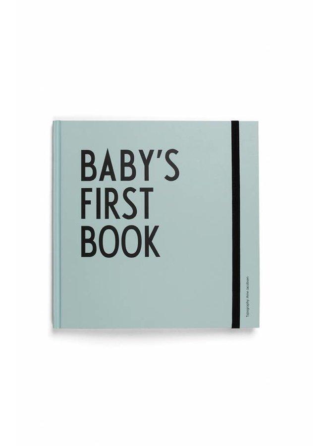 Baby's Eerste Boekje Turquoise   Design Letters