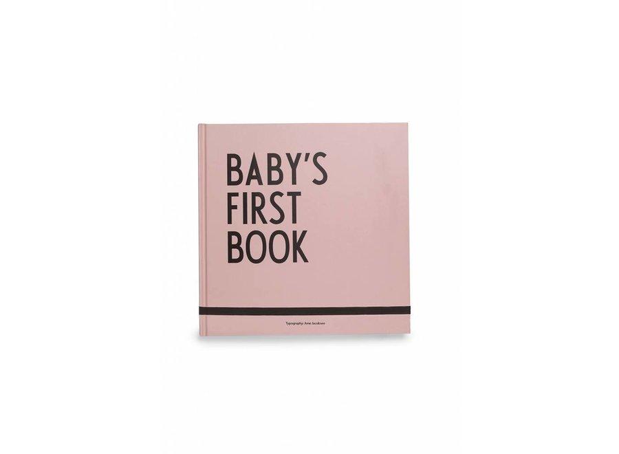 Baby's Eerste Boekje Roze | Design Letters