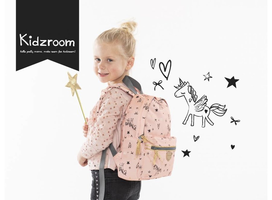 Kleuter rugzakje Fearless Pink   Kidzroom