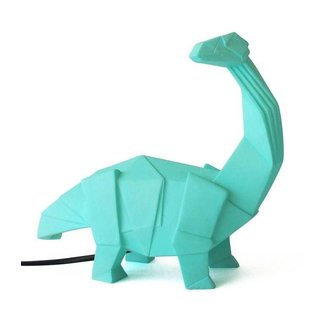 House of Disaster Origami Lamp Dinosaurus Groen | House of Disaster