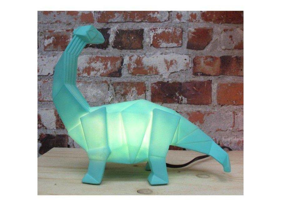 Origami Lamp Dinosaurus Groen | House of Disaster