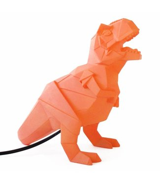 House of Disaster Origami Lamp Dinosaurus Oranje | House of Disaster
