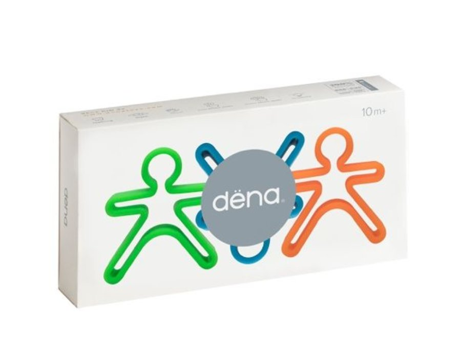 3 speelfiguurtjes Neon | Dena