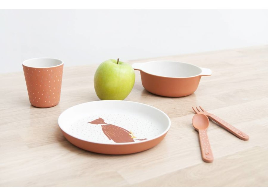 Eetset Lepel & Vork Mr. Fox