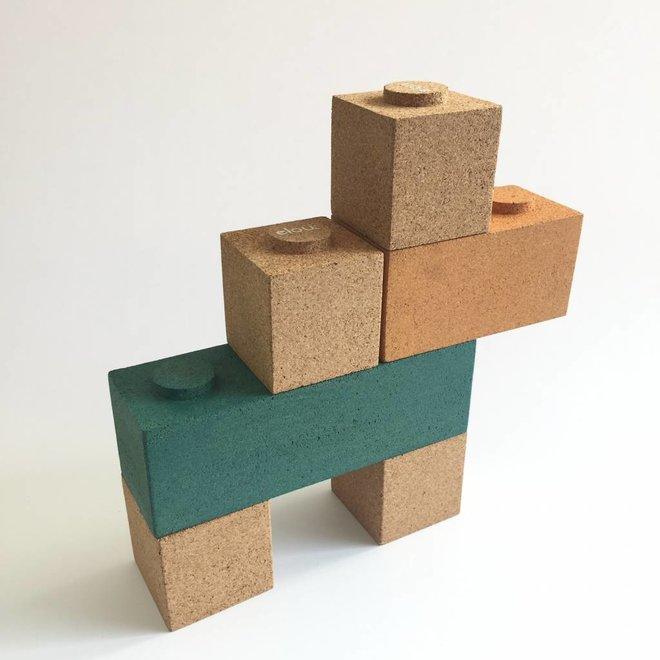 Kurken Blokkenset – 12stuks