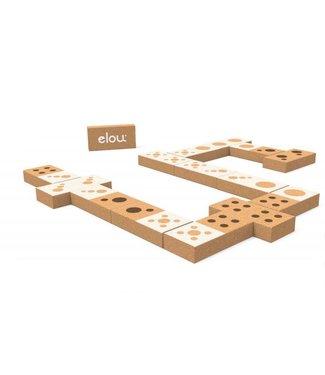 Elou Kurken Dominospel – Zwart/Wit