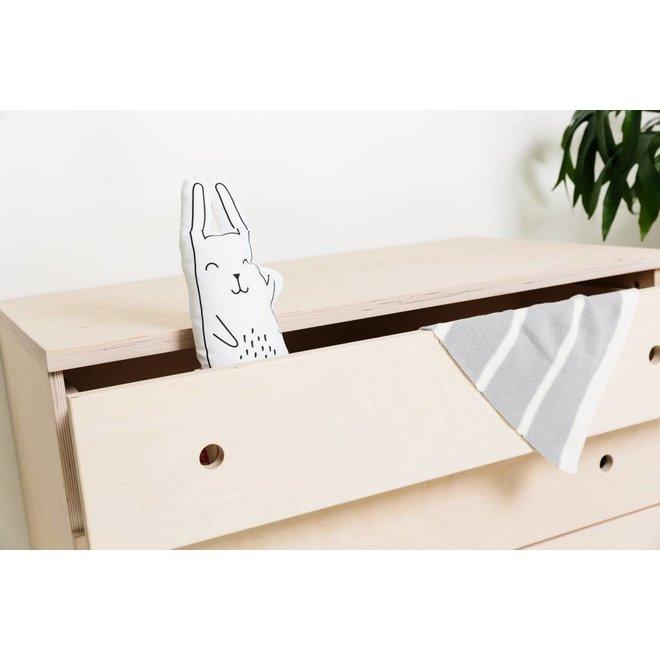 Dekentje Bed 100x150cm – Bunny