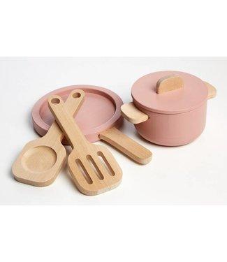 Flexa Pot & Pan – Set van 4 stuks
