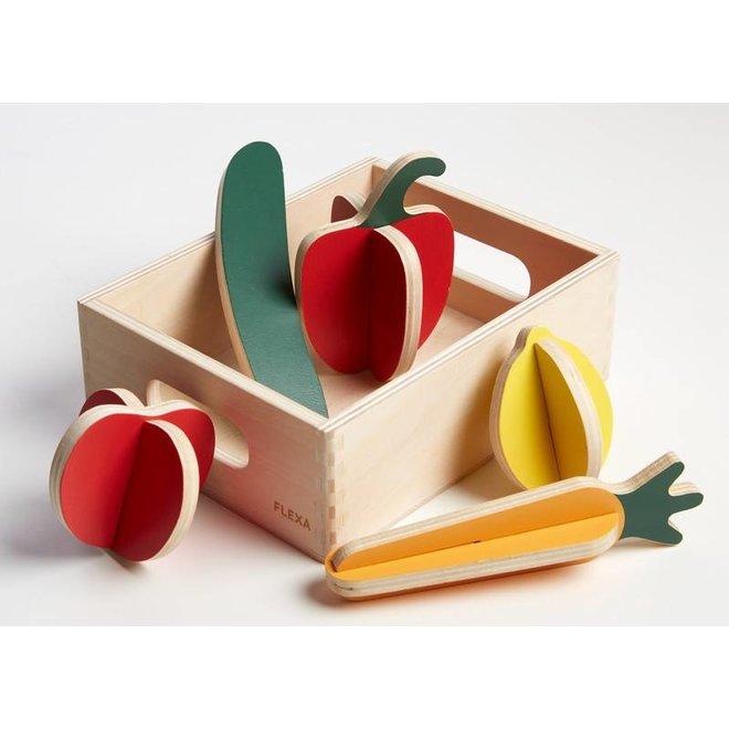 Groenten – Set van 8 stuks