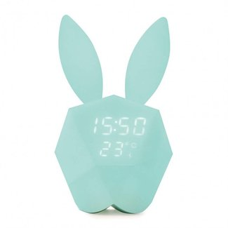 MOB Wekker Cutty Clock Blauw