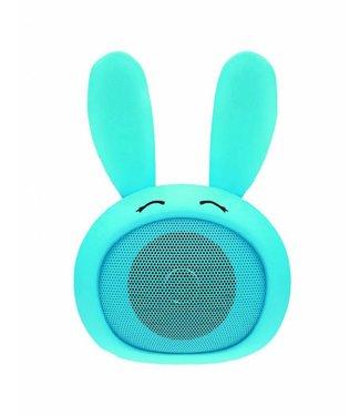 MOB Konijn Cutty Turquoise – Bluetooth Luidspreker