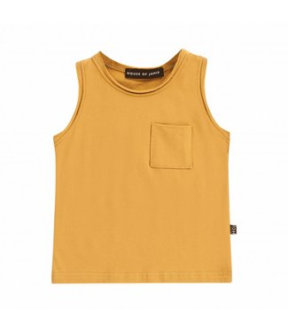 House of Jamie Tanktop – Honey Mustard