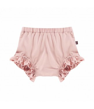 House of Jamie Ruffled Shorts – Powder Pink
