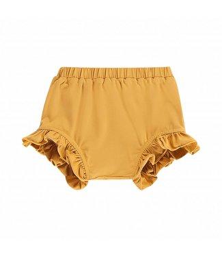 House of Jamie Ruffled Shorts – Honey Mustard