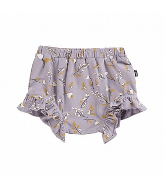 House of Jamie Ruffled Shorts – Floral Dusty Lilca