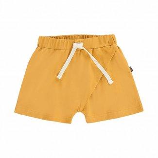 House of Jamie Crossover Shorts – Honey Mustard