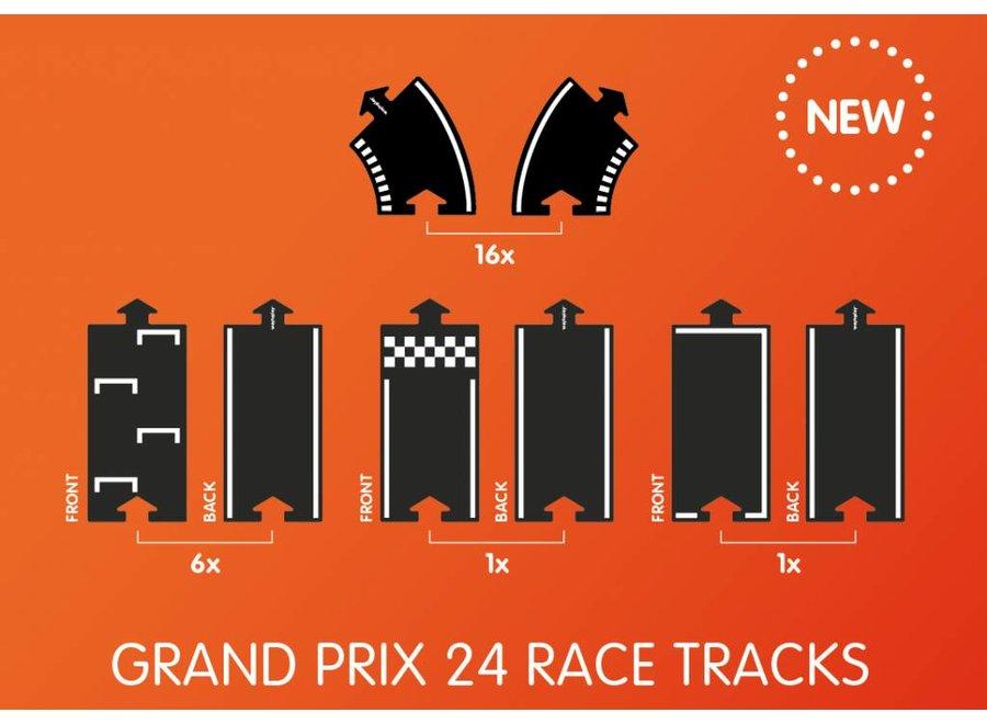 Autobaan Grand Prix (24-delige set) | WaytoPlay