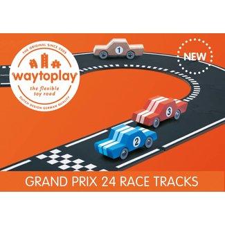 WaytoPlay Autobaan Grand Prix (24-delige set) | WaytoPlay