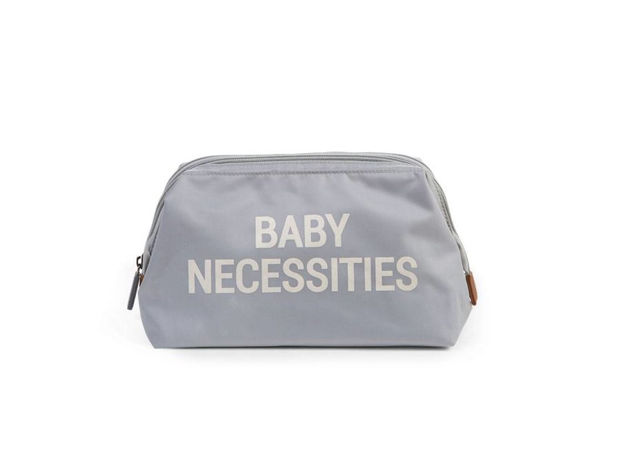 Toilettas Baby Necessities Grey Off White  | Childhome
