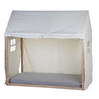 Childhome Tipi Bedframe Cover 70x140cm Wit